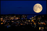 Moon Over Sandefjord Harbour, Best of 2005, Norway