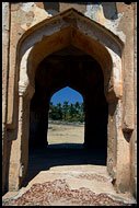Detail Of Watch Tower, Royal Centre, Hampi Historical, India