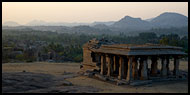 Temple Ruin On Hemakuta Hill, Hampi Historical, India