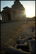 Sunset On Hemakuta Hill, Hampi Historical, India