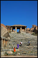 Walking The Ruins, Hampi Historical, India