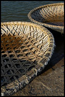 Detail Of The Coracle, Hampi - Nature, India