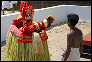 God In The Mirror, Theyyam Ritual Dance, India