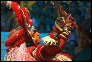 Performing Theyyam, Theyyam Ritual Dance, India