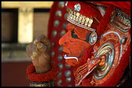 Resting Dancer, Theyyam Ritual Dance, India