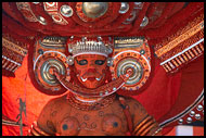 Kolam - The Dancer, Theyyam Ritual Dance, India