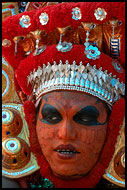 The Theyyam Performer, Theyyam Ritual Dance, India