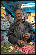 Seller At The Ooty Market, Ooty, India