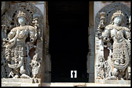 Side Entrance Of Hoysaleswara Temple, Belur And Halebid, India