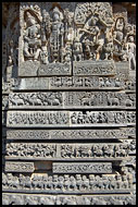 Stunning Carving Of Hoysaleswara Temple, Belur And Halebid, India