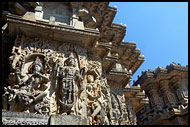 Hoysaleswara Temple, Belur And Halebid, India