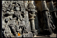 Detail Of Channakeshava Temple, Belur And Halebid, India