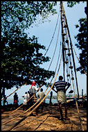 Chinese Net Workers, Cochin - Chinese Nets (Cheena vala), India
