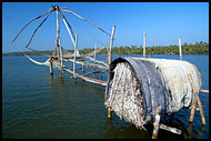 Chinese Net (Cheena Vala) By Sea, Cochin - Chinese Nets (Cheena vala), India