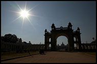 Entrance To Mysore Palace, Mysore, India