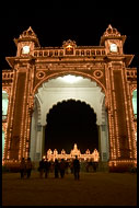 Mysore Palace In The Night, Mysore, India