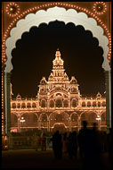 Entrance To The Mysore Palace, Mysore, India