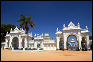 Entrance To Maharajah's Palace, Mysore, India