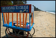 Ice Cream Stall At Cherai Beach, Cochin (Kochi), India