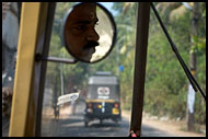 Travelling By Auto Rickshow, Cochin (Kochi), India