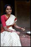 Indian Woman, Coorg (Kodagu) Hills, The People, India