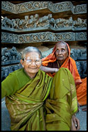 Women By A Temple, Halebid, The People, India