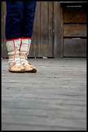 Traditional Wallachian Dancing Shoes, Spring celebrations in Wallachia, Czech republic