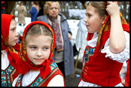 Traditional Wallachian Dancers, Spring celebrations in Wallachia, Czech republic