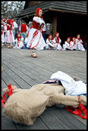 Morena The Bad Spirit Is Gone, Spring celebrations in Wallachia, Czech republic