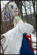 Morena - The Bad Spirit, Spring celebrations in Wallachia, Czech republic