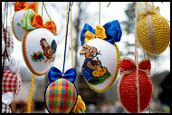 Decorated Eggs, Spring celebrations in Wallachia, Czech republic