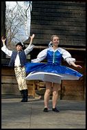Traditional Wallachian Dance, Spring celebrations in Wallachia, Czech republic
