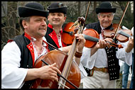 Musicians In Traditional Wallachian Costume, Spring celebrations in Wallachia, Czech republic