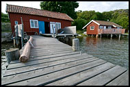Fishermen Houses, Koster Island, West coast, Sweden