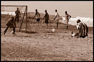 Scoring A Goal, Amputee Football Team, Sierra Leone