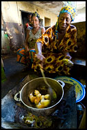 Women Cooking, People And Nature, Sierra Leone