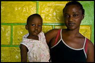 Mother And Her Kid, People And Nature, Sierra Leone