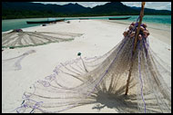 Fishing Nets On The Beach, People And Nature, Sierra Leone