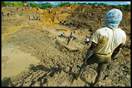 Overlooking Diamond Mine, Diamond Mines In Color, Sierra Leone