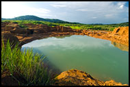 Landscape Of Koidu, Diamond Mines In Color, Sierra Leone