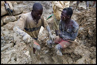 Going To Take A Rest, Diamond Mines In Color, Sierra Leone