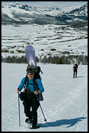 Off Piste Skiing, Hemsedal In Winter, Norway
