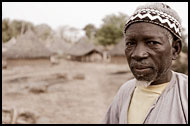 The Head Of Ethiouwar Bedik Village, Bedick Tribe, Senegal