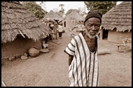 Bedick Eldery Man, Bedick Tribe, Senegal
