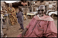 Eldery Man In Kedougou, Senegambia, Senegal