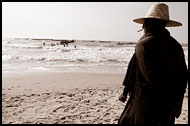 Man On A Beach, Casamance, Senegal