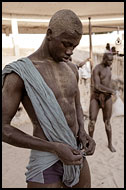 Preparing For Training, Traditional Wrestling, Senegal