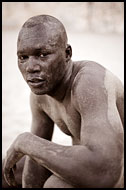 Traditional Wrestler, Traditional Wrestling, Senegal