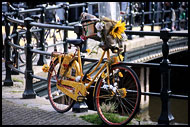 Bike On Bridge, Best Of Netherlands, Netherlands