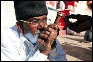 Smoking Pipe, Shekhawati, India